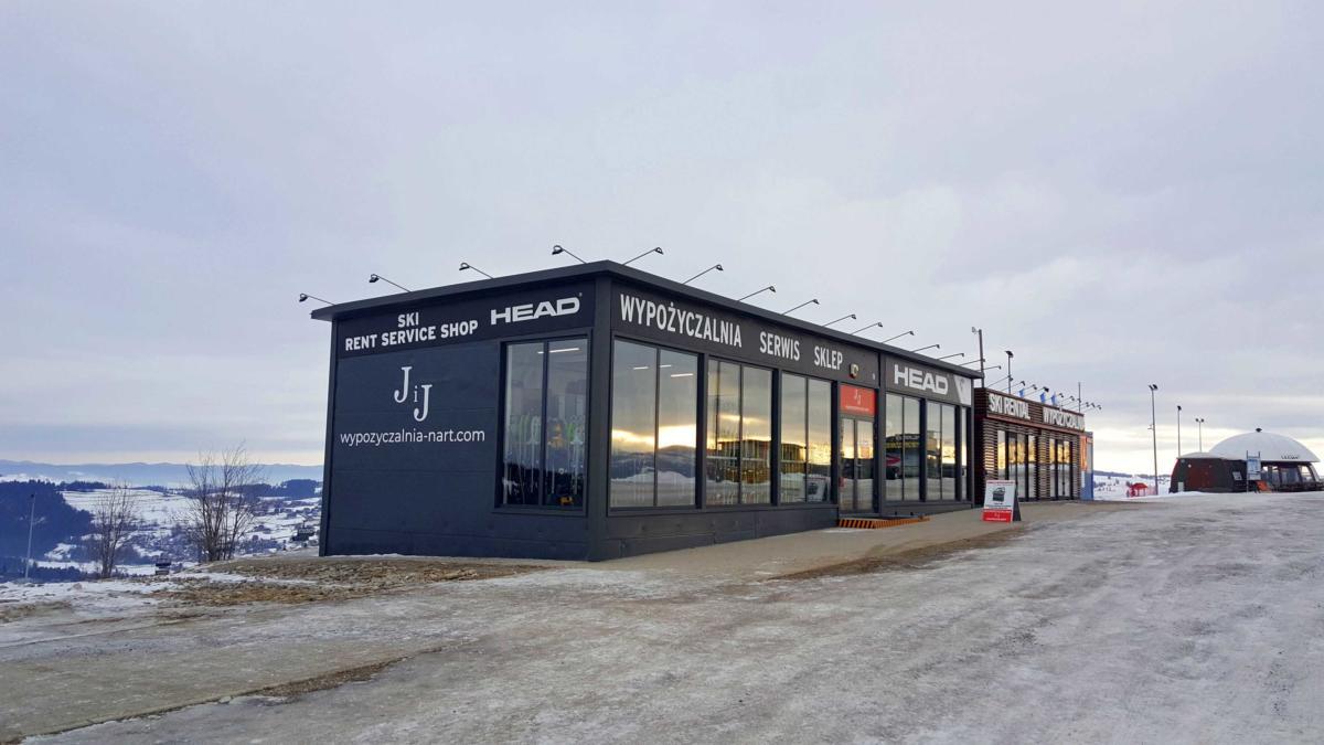Wypożyczalnia nart, serwis narciarski Rusiń Ski Bukowina